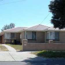 Rental info for NEAT & CLEAN 3 BEDROOM HOME