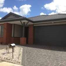 Rental info for GREAT HOME IN A GREAT STREET in the Craigieburn area