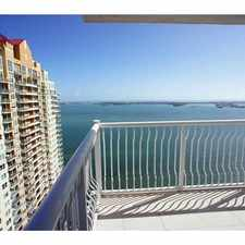 Rental info for 1200 Brickell Bay Drive #35
