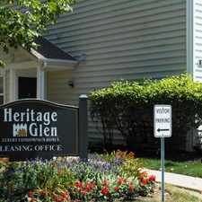 Rental info for Heritage Glen in the Columbus area