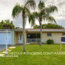 Rental info for 831 NW 43rd Ave in the 33066 area