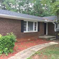 Rental info for 465 North Hairston Road