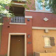 Rental info for $1475 2 bedroom Townhouse in Tempe Area in the Mesa area