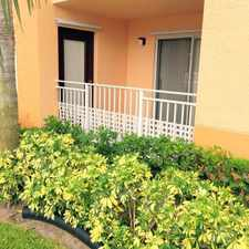 Rental info for 121 SW Palm Drive #101