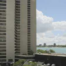 Rental info for Riverfront Towers in the Detroit area
