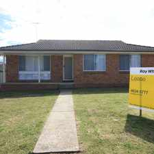 Rental info for Family Home in the Airds area