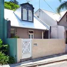 Rental info for Classic two bedroom terrace in the Sydney area