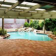 Rental info for GREAT FAMILY HOME WITH POOL AND A VEIW in the Safety Bay area
