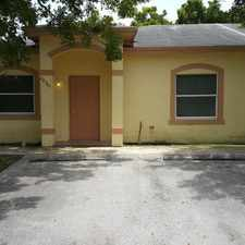 Rental info for AMPLIO TOWNHOUSE ESQUINERO HOMESTEAD