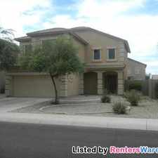 Rental info for 44360 W Knauss Dr in the Maricopa area