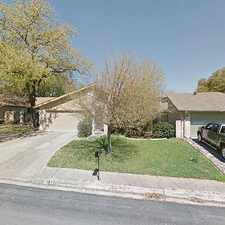 Rental info for Single Family Home Home in San antonio for For Sale By Owner in the Hunters Creek area