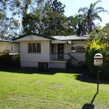 Rental info for Centrally located three bedroom home in the Indooroopilly area