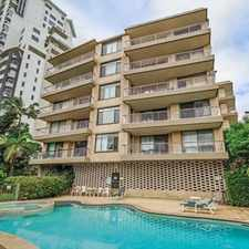 Rental info for OAK LODGE - 2 BEDROOM 2 BATHROOM UNFURNISHED UNIT IN BUDDS BEACH in the Surfers Paradise area