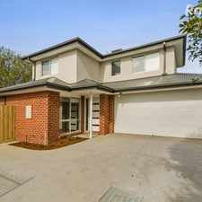 Rental info for Brand New Family Treasure in Tranquil Surrounds in the Melbourne area