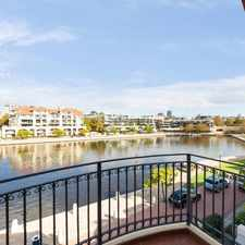 Rental info for Absolute Waterfront, Ultimate East Perth Luxury