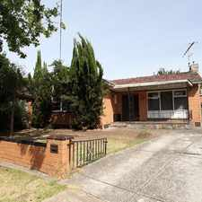 Rental info for Great sized Three bedroom house- Available Now!!!!! in the Melbourne area