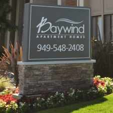 Rental info for Baywind in the Eastside Costa Mesa area