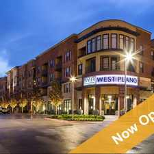 Rental info for AMLI West Plano in the Plano area