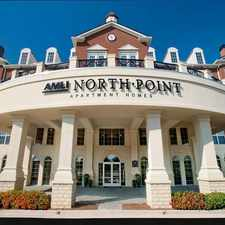 Rental info for AMLI North Point