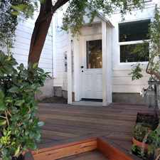 Rental info for 462 Andover Street in the Bernal Heights area