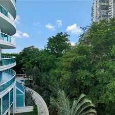 Rental info for 2127 Brickell Avenue #605