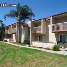 Rental info for One Bedroom In Northern San Diego in the Vista area