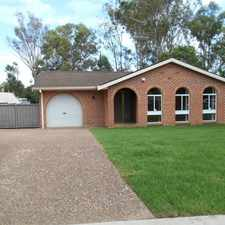 Rental info for TIDY FAMILY HOME.. in the Bligh Park area