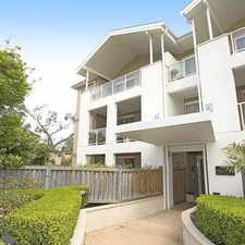 Rental info for OPEN FOR INSPECTION CANCELLED - APPLICATION APPROVED & DEPOSIT TAKEN in the Hunters Hill area