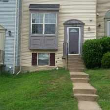 Rental info for This is a three level townhouse in a nice and friendly neighborhood.