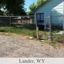 Rental info for Lander - 2 Bedroom 1 Bath House with Fenced Yard In Lander -.