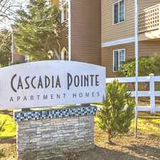 Rental info for Cascadia Pointe Apartments
