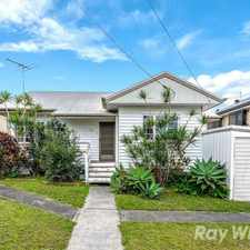 Rental info for Beautifully presented home with Large workspace in the Enoggera area