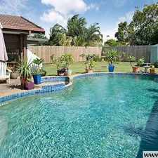 Rental info for LOW SET FAMILY HOME WITH POOL