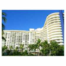Rental info for 5151 Collins Avenue #531