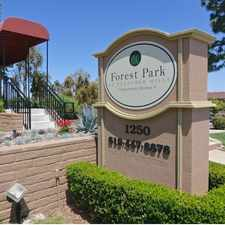 Rental info for Forest Park El Cajon