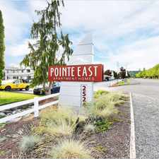 Rental info for Pointe East Apartment Homes