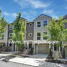 Rental info for Stunning Brownstone In Nw Portland! in the Northwest Heights area