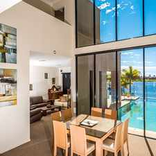 Rental info for PANORAMIC SKYLINE VIEWS ACROSS WIDE WATER in the Broadbeach Waters area