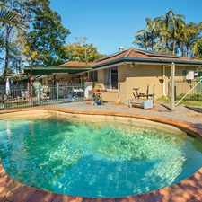 Rental info for Solar Power, In Ground Pool And Central Location in the Brisbane area