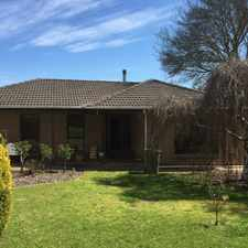 Rental info for Ample Living Space in the Mount Barker area