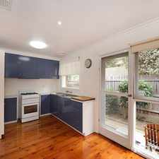 Rental info for Great Location, close to Wattle Park in the Melbourne area