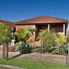 Rental info for Comfortable Family Home