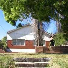 Rental info for FREESTANDING HOME FOR THE PRICE OF A SEMI in the Maroubra area
