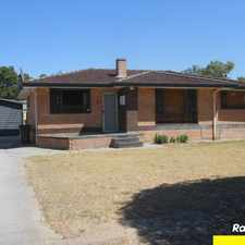 Rental info for LOOK!!! ..... CONVENIENTLY LOCATED.... 3 BEDROOM HOME in the Perth area