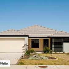 Rental info for OPEN TO VIEW 5.30PM MONDAY 22nd MAY!!! in the Perth area