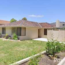 Rental info for A 3 bedroom home on a compact corner block in the Wantirna area