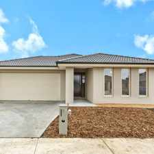 Rental info for Brand New 4 Bedroom Family Home in the Melbourne area