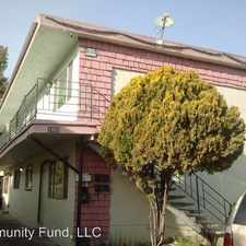 Rental info for 1663 80th. Ave. - #A in the Arroyo Viejo area