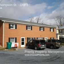 Rental info for 475 Thompson St.
