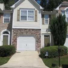Rental info for $2100 3 bedroom Townhouse in Fulton County Grove Park in the Atlanta area